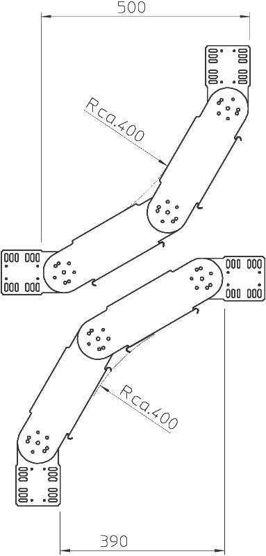 Схема Регулируемый угол 90° вертикальный — арт.: 7006624