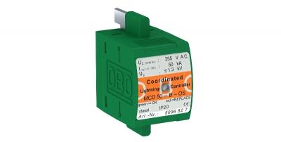 Вставка для комбинированного разрядника, с индикацией функций — арт.: 5096827