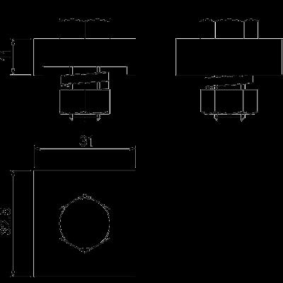 Схема Соединительная клемма для круглых проводников — арт.: 5012015