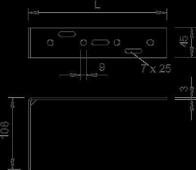 Схема Настенный угол — арт.: 6015360