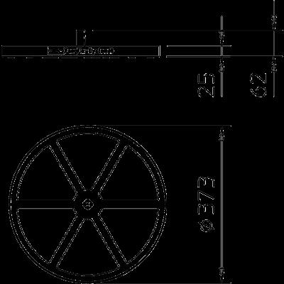 Схема Рамка для бетонного основания FangFix 16 кг — арт.: 5403235