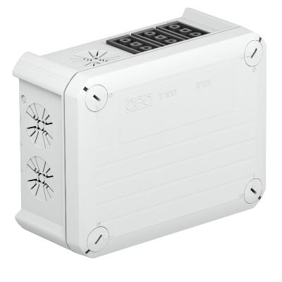 Распределительная коробка Т-100 WB 3S3 с гнездовым разъемом Wieland — арт.: 2007813