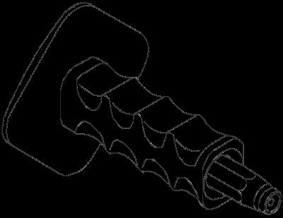 Схема Насадка для вбивания дюбелей, с защитой для рук — арт.: 3031500