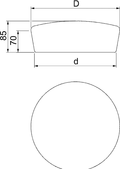 Схема Огнестойкая заглушка PYROPLUG® Peg — арт.: 7202553
