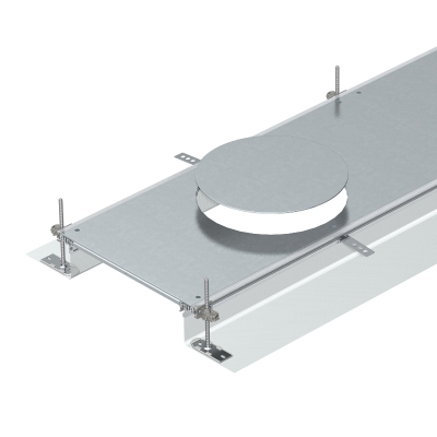 Секция кабельного канала с крышкой для лючка GESR9, высота 40 — 140 мм — арт.: 7424240