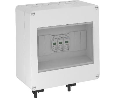 Системное решение для защиты фотогальванических установок со штекером MC, в корпусе, с разрядниками типа 2, 1000 В постоянного тока — арт.: 5088672