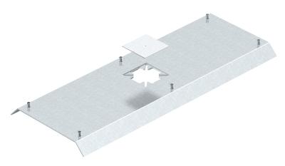 Крышка Т-образного ответвления с отверстием для напольного бокса Telitank — арт.: 7404852