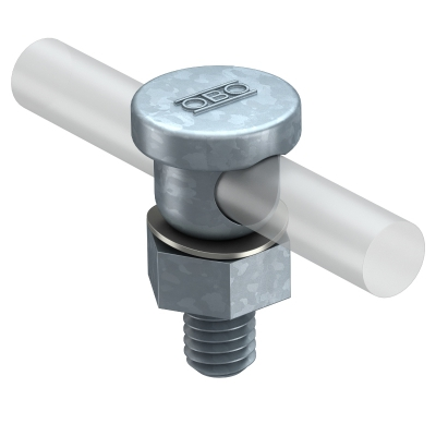 Соединитель для круглых проводников Rd 8-10, с резьбой М10 — арт.: 5304008