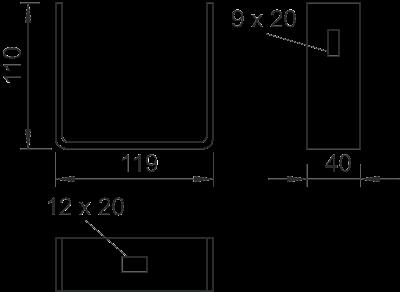 Схема Крепежная скоба — арт.: 6356362