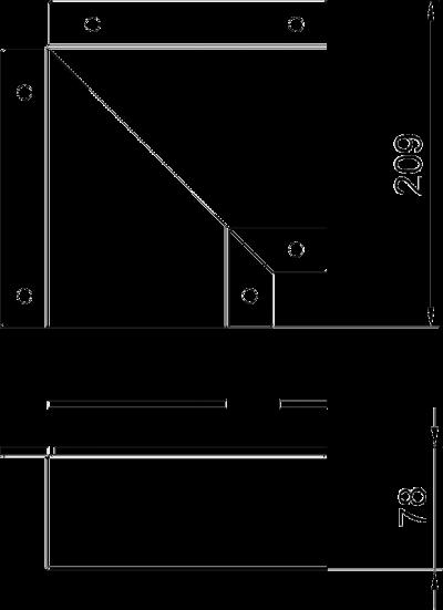 Схема Крышка плоского угла — арт.: 7216330