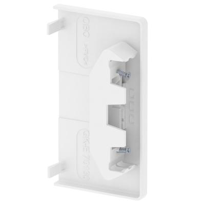 Пластиковая торцевая заглушка для кабельного короба высотой 70 мм — арт.: 6274574