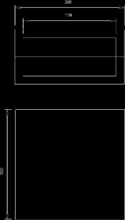Схема Огнестойкая сборная рамка PYROPLUG® Box — арт.: 7202660