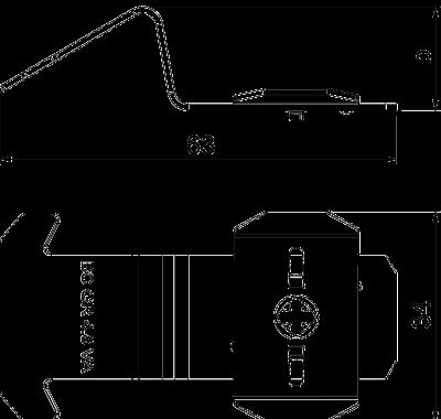 Схема Крепежная скоба — арт.: 6016668