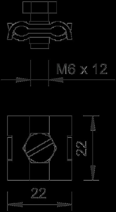 Схема Зажим для крепления троса — арт.: 5305012