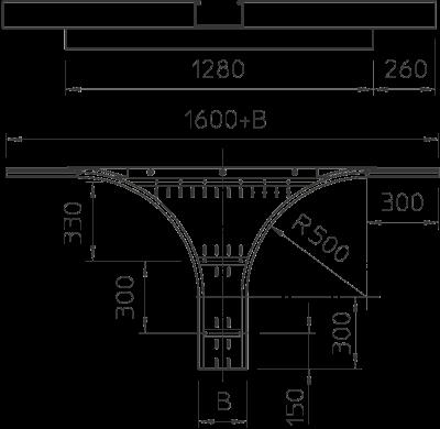 Схема Т-образное/крестовое соединение — арт.: 6098800