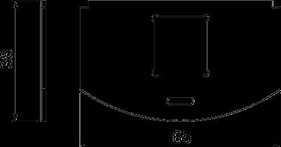 Схема Суппорт для 1го телекоммуникационного модуля типа LE — арт.: 7408810