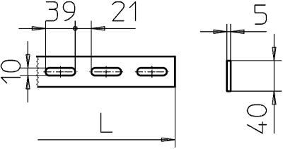 Схема Конструкционный и подвесной профиль — арт.: 7103643