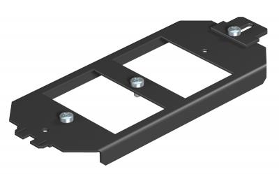 Монтажная рамка для телекоммуникационных модулей, системная длина 165 мм — арт.: 7407836