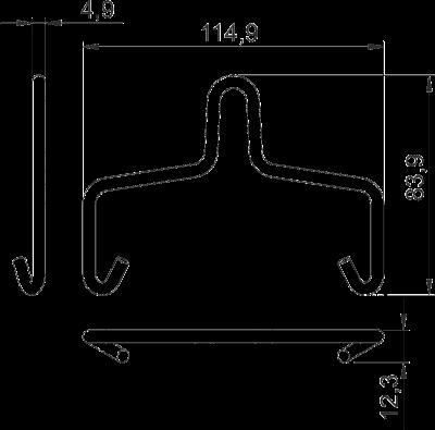 Схема Подвесная скоба — арт.: 6066510