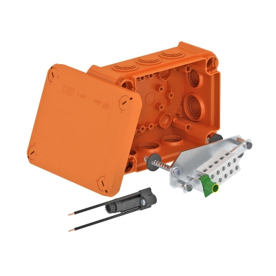 Огнестойкая распределительная коробка FireBox T-100 ED с внутренним креплением и фиксатором — арт.: 7205550