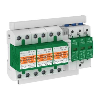 Комплект защиты MCD + V20, с защитой от тока утечки, 3-полюсный, с дистанционной сигнализацией — арт.: 5089775