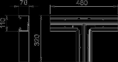 Схема Т-образная секция — арт.: 6274360