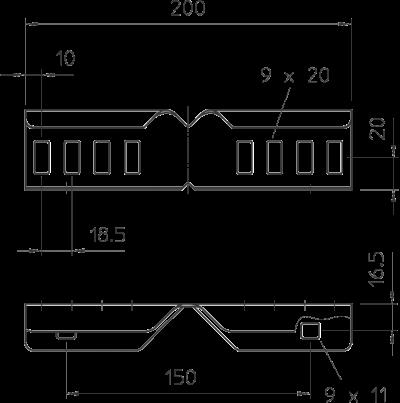 Схема Угловой соединитель — арт.: 6200882