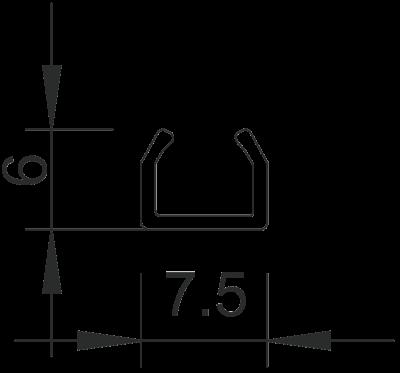 Схема Мини-канал на клейкой основе M7 — арт.: 6150071