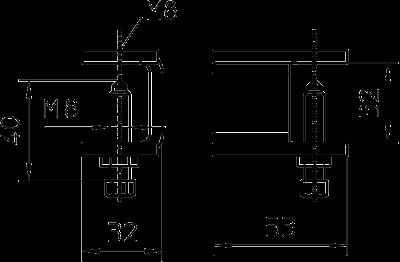 Схема Фиксатор для кабельного лотка лестничного типа — арт.: 6221061