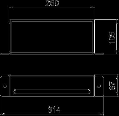 Схема Торцевая заглушка — арт.: 7216460