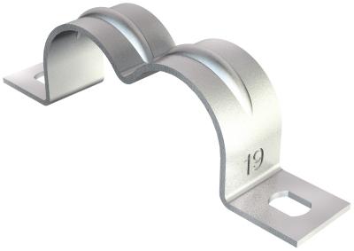 Крепежная скоба двойная, с двумя лапками — арт.: 1004166