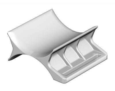 Пластиковая прижимная пластина, двойная — арт.: 1196111