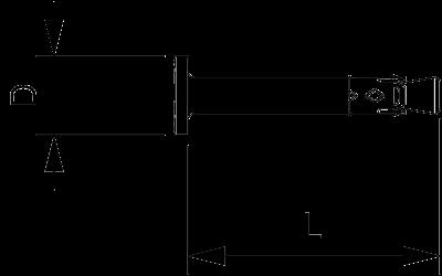 Схема Анкерный гвоздь N-K со шляпкой — арт.: 3498390