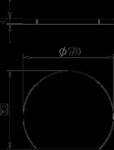 Схема Резиновая подложка для электромонтажной колонны ISSRM45 — арт.: 6290178