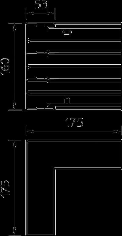 Схема Внутренний угол — арт.: 6116203