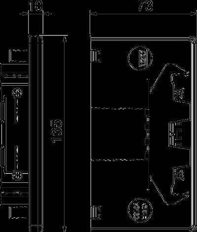 Схема Торцевая заглушка — арт.: 6274570