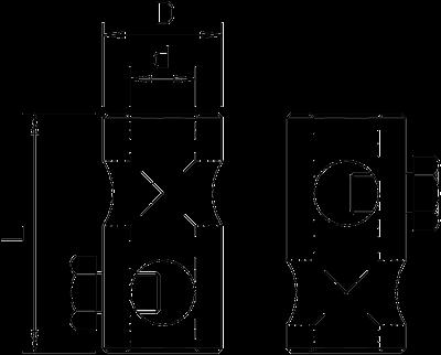 Схема Т-образный соединитель — арт.: 5408156