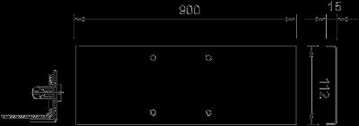 Схема Крышка стойки для подвода электропитания к оборудованию — арт.: 6356915