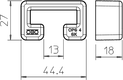 Схема Защитный колпачок CPS 4 — арт.: 1124555