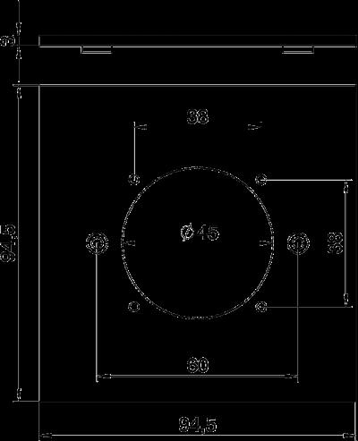 Схема Плата VH для навесной розетки ASD — арт.: 6109839