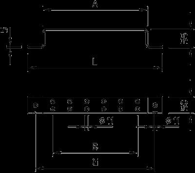 Схема Скоба для соединения потенциала с системой заземления — арт.: 5016029