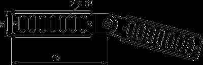 Схема Шарнирный соединитель — арт.: 7082002
