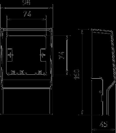Схема Монтажная рамка — арт.: 6199402
