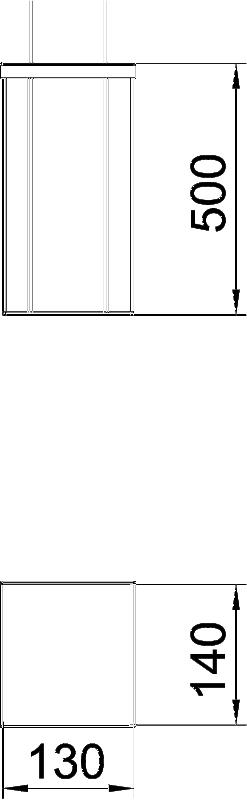 Схема Алюминиевая электромонтажная колонна ISSHS140500 — арт.: 6290030