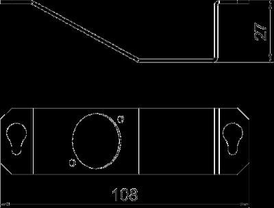 Схема Суппорт для 1го телекоммуникационного модуля типа К — арт.: 7407855