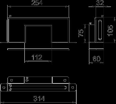 Схема Редукционная торцевая заглушка — арт.: 7216404