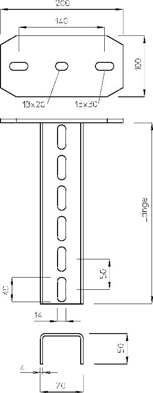 Схема Подвесная стойка US 7 — арт.: 6339018