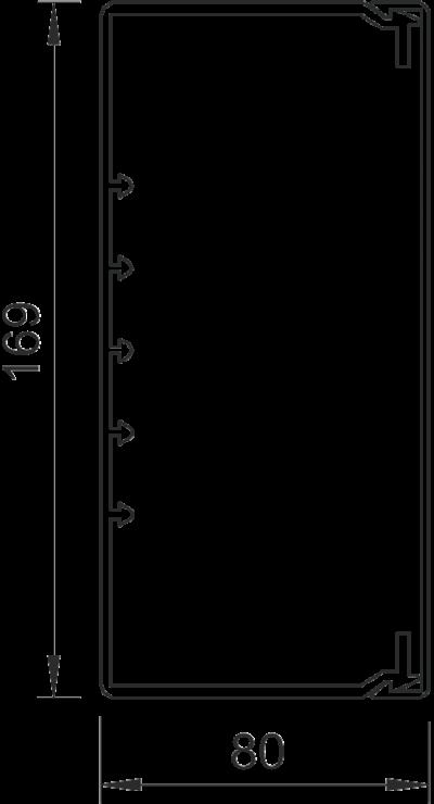 Схема Кабельный короб WDK 80170 — арт.: 6191304