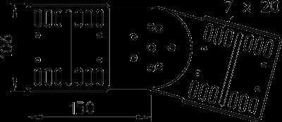 Схема Шарнирный соединитель — арт.: 7082037