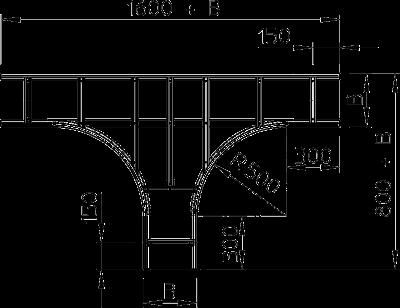 Схема Т-образная секция — арт.: 6229727